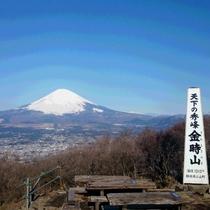 天下の秀峰 金時山(ハイキングコース 強羅駅より往復約5時間)