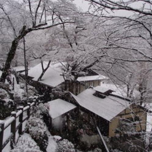 ある雪の日の風景