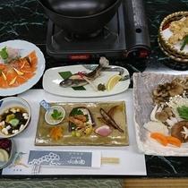 お鍋コース料理一例