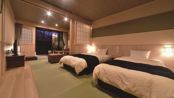 <滋賀旅・2号館>禁煙・和洋室【露天風呂付き】