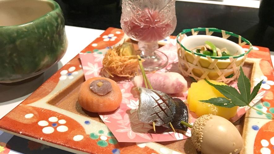 *【ご夕食(一例)】八寸