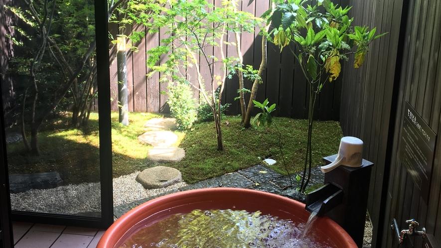 *【2号館】四季折々の景色を眺めながら、露天風呂を好きなだけご堪能ください。