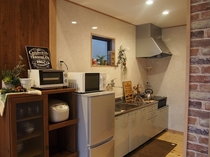 キッチン(ログ風コテージ)