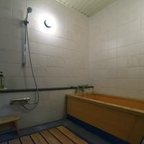 ロイヤルスイートルーム 檜風呂