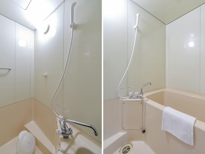 和洋室 二人部屋◆オーシャンビュー◆ バスルーム