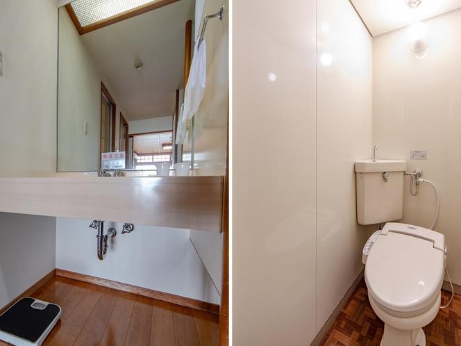 和洋室 二人部屋◆オーシャンビュー◆ トイレ