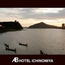 観光スポット:木曽川の鵜飼