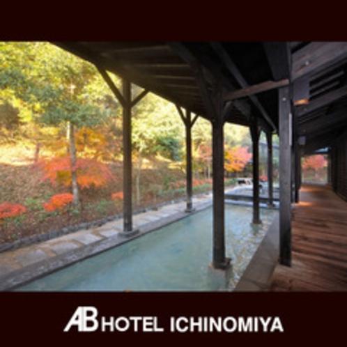 観光スポット:日本昭和村(昭和銭湯 里山の湯)