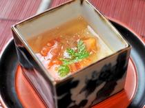 トマトの丸ごと茶碗蒸し(一例)