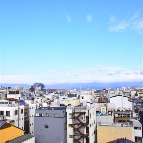 屋上露天からの景色