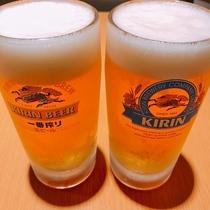 生ビール2杯付プラン