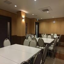 【パーティルーム】会議室として、ご利用いただけます。 2160円/1時間