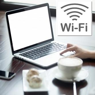 無料Wi-Fiが全客室でご利用可能です