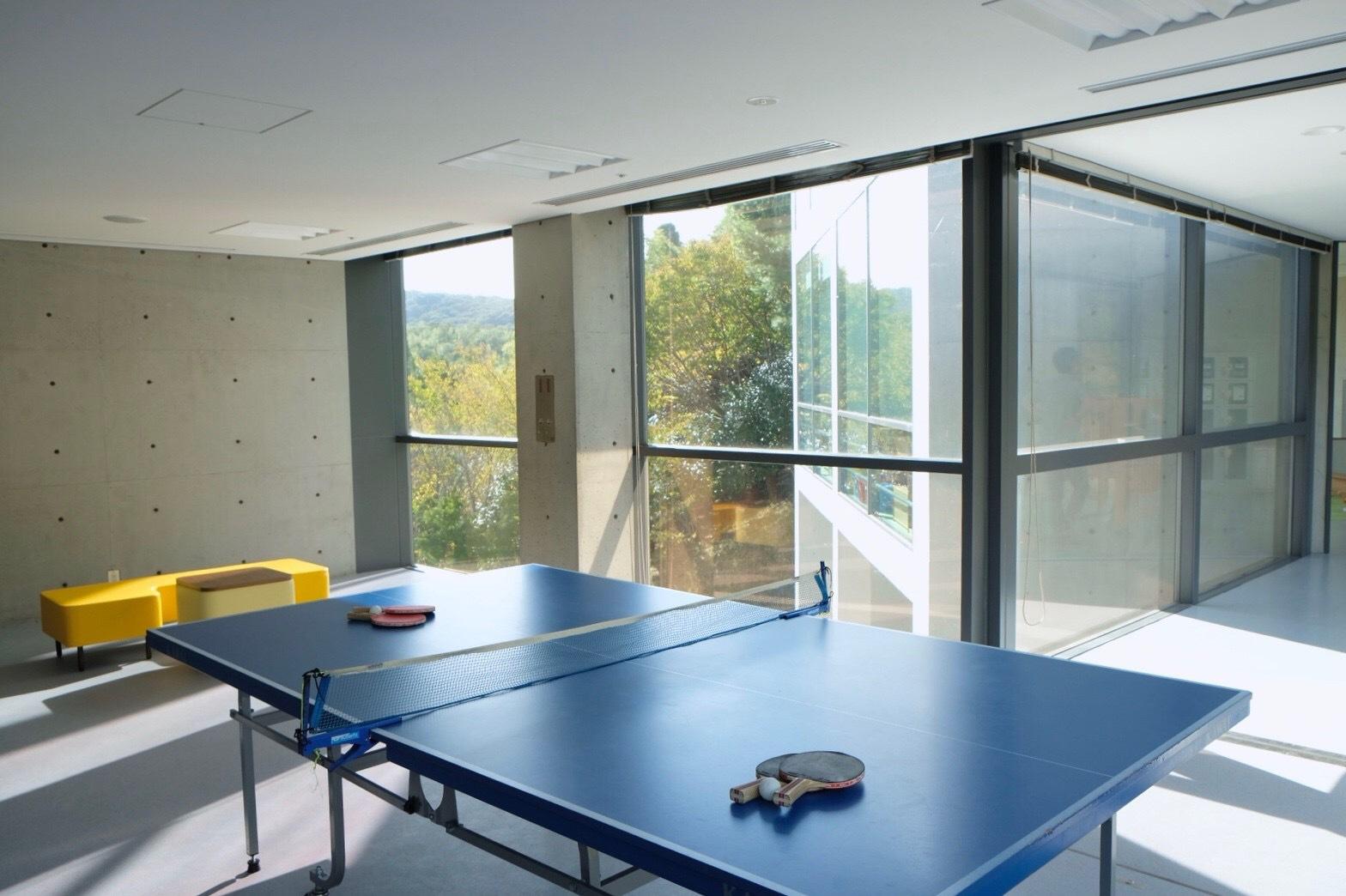 【卓球台】ご宿泊の方は夜9時まで無料でご利用頂けます。