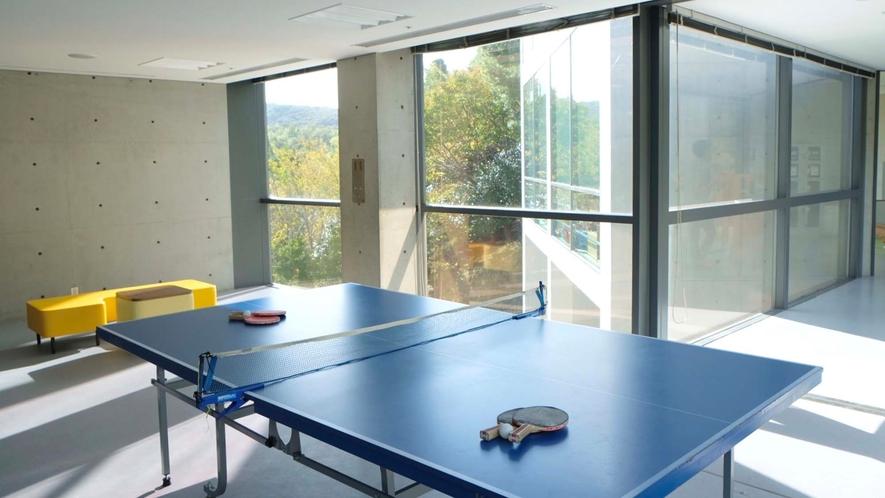 ・トレーニングルーム 卓球ができます