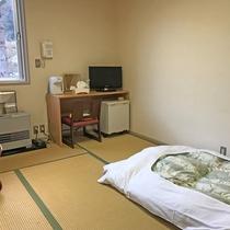 *ペットと泊まれる和室4.5畳(一例)/小型犬とこじんまり過ごしたい方におすすめです。