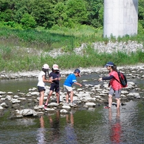 *後志利別川/夏は川遊びが子供たちに大人気♪ここでしかできない自然体験を!