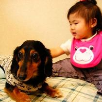 *ペットも家族も、みんな一緒に泊まれる畳のお部屋!