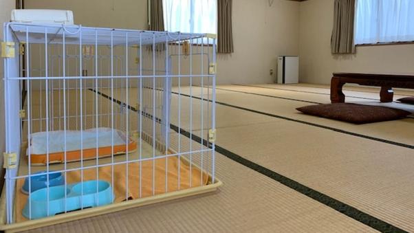 【1日1室限定】ペット同伴コテージ客室【禁煙】