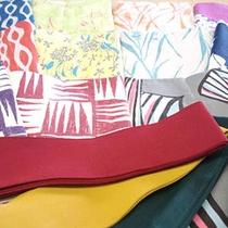 選べる色浴衣(一例)