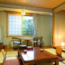 本館和室8畳(客室一例)