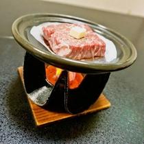 期間限定☆前沢牛の陶板焼きイメージ