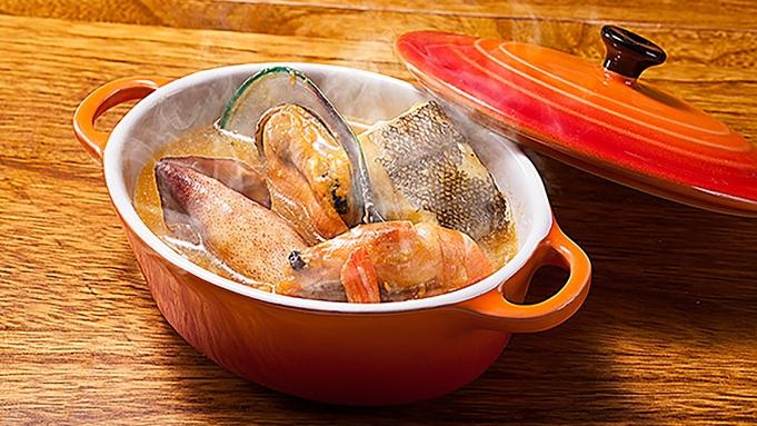 【特製ブイヤベース】魚貝の旨味がギュっとつまったベルン特製ブイヤベース★<贅沢ディナープラン>