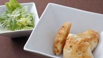【夕食一例】フォカッチャサラダ