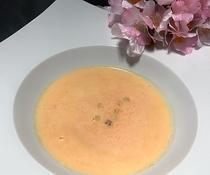 北海道産にんじんを使ったポタージュスープ