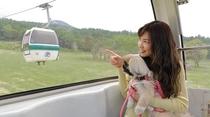 【周辺観光】ワンちゃんと高原ゴンドラ(GW~10月まで)
