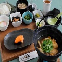 和朝食※お日にちによって一部メニューは異なります。