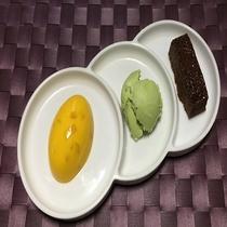 3種のデザート イメージ