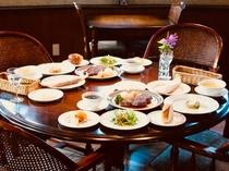 〜日替わり料理の夕食です〜