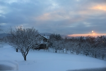 ~冬の夜明け~