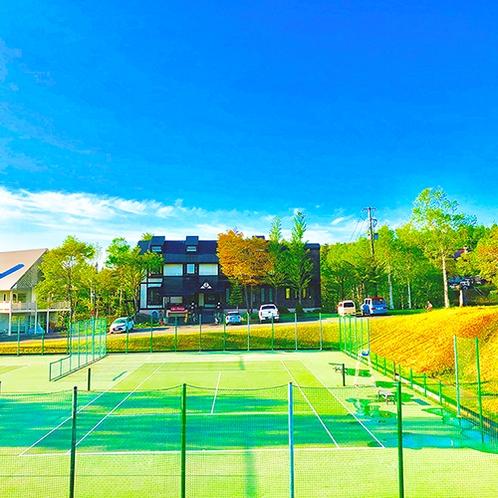 ・安比高原テニスクラブ テニスコート