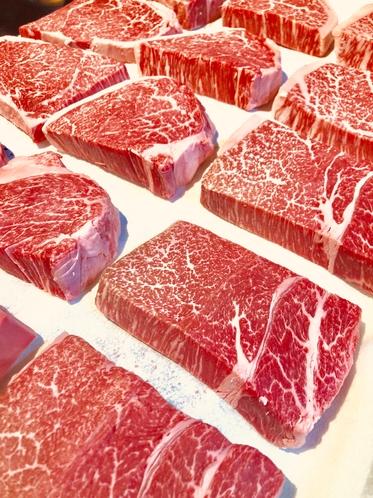 〜ディナーのメインは岩手県産黒毛和牛のステーキになります〜
