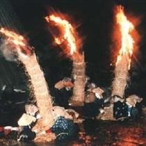 【黒石市】「大川原の火流し」は豊凶を占い、無病息災を祈るお祭り