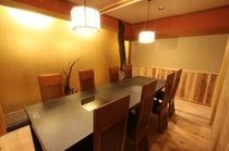 レストラン(8人数席)