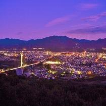 【秩父の夜景】空気が澄んでいるので、秩父の夜景は絶景です。夜景ツアーでお連れ致します。