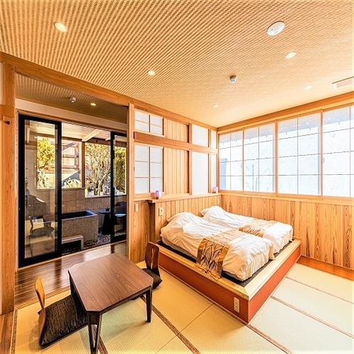 ◆別邸◆スタンダード客室【露天風呂付き客室】
