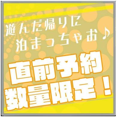 【直前予約】お部屋お任せ◆舞浜駅まで電車6分◆遊んだ帰りにとまっちゃお♪◆【人数受付】【訳あり】