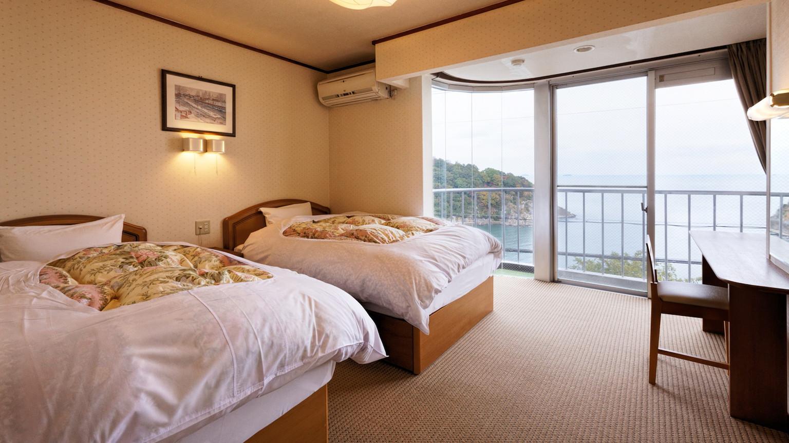 【海眺望】二間和室