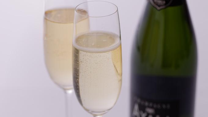 【3大特典付プチ贅沢レディースプラン】自分へのご褒美に♪料理長特製ケーキ&スパークリングワイン!