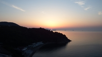【景観】客室から眺める絶景の朝日