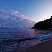 美しい瀬戸内海が目の前