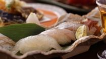 【料理例】赤穂の新鮮な山海の幸を味わう会席料理