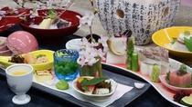 【夕食一例】季節の彩り会席(春)※料理イメージ