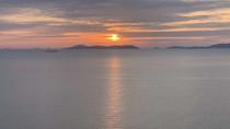 【海楼庭園(かいろうていえん)】朝には瀬戸内海から昇ってくる朝日を眺めることができます。
