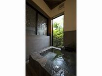 花暦和室・温泉部屋風呂