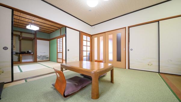 【さくら荘】温泉岩風呂付き一戸建て離れ:二間以上のお部屋